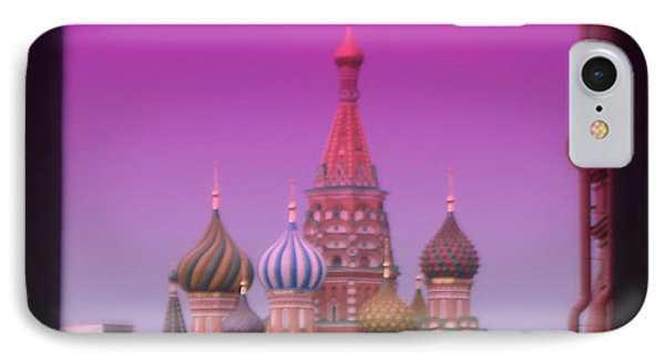 Red Square Peak Phone Case by Funkpix Photo Hunter