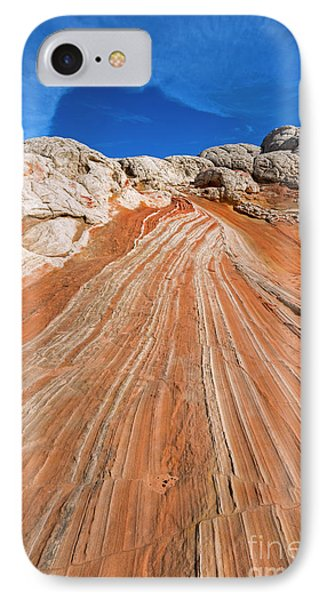 IPhone Case featuring the photograph Red Stone Highway by Mike Dawson
