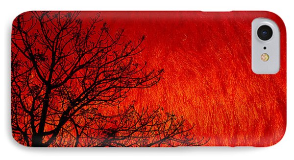 Red Storm IPhone Case by Charuhas Images