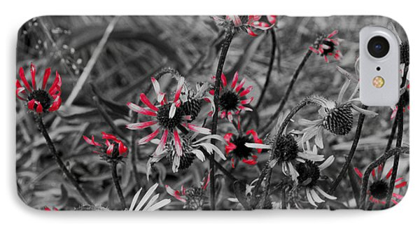 IPhone Case featuring the photograph Red Streaks by Deborah  Crew-Johnson