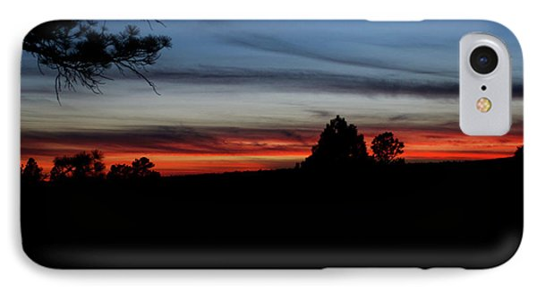 Red Sunset Strip IPhone Case