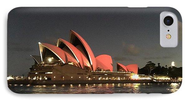 Red Sydney Opera House IPhone Case