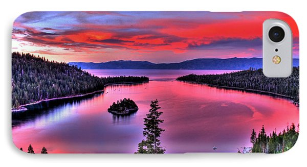 Red Tahoe Phone Case by Scott Mahon