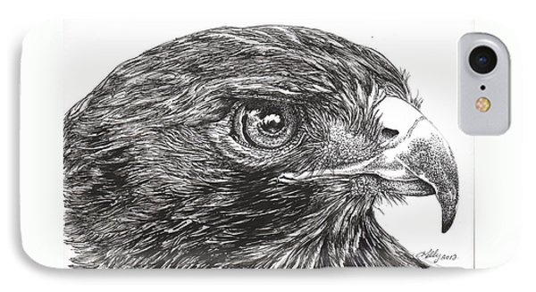 Red Tail Hawk IPhone Case