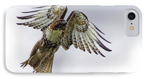 Red Tail Takeoff Phone Case by Randall Ingalls