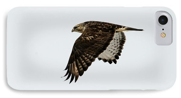 Red-tail Wings Down IPhone Case by Mike Dawson