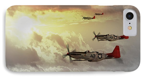 Red Tails Phone Case by J Biggadike