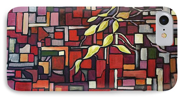 IPhone Case featuring the painting Red Tango by Joanne Smoley