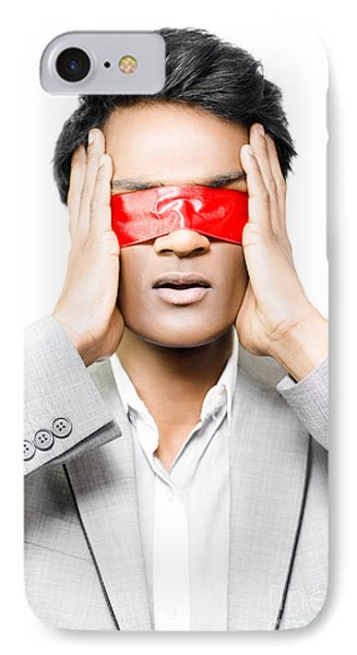 Red Tape And Business Confusion IPhone Case by Jorgo Photography - Wall Art Gallery