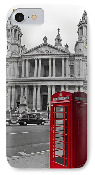 Red Telephone Boxes In London IPhone 7 Case