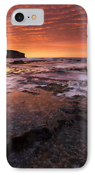 Kangaroo iPhone 7 Case - Red Tides by Mike  Dawson