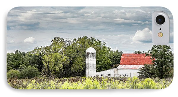 Red Tin Roof IPhone Case
