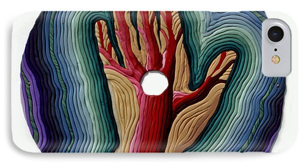 Red Tree Phone Case by Arla Patch