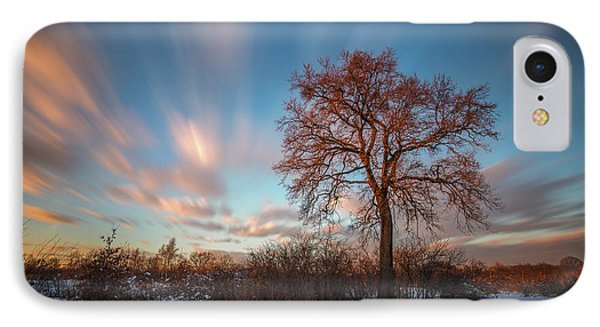 IPhone Case featuring the photograph Red Tree by Davorin Mance