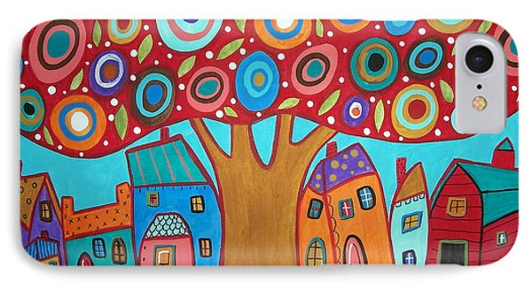 Red Tree Phone Case by Karla Gerard