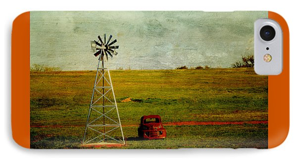 Red Truck Red Dirt Phone Case by Toni Hopper