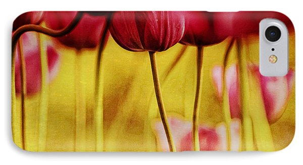 Red Tulips Phone Case by Iris Greenwell