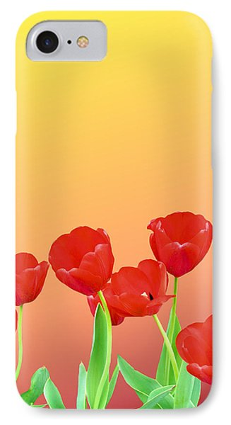 Red Tulips Phone Case by Kristin Elmquist
