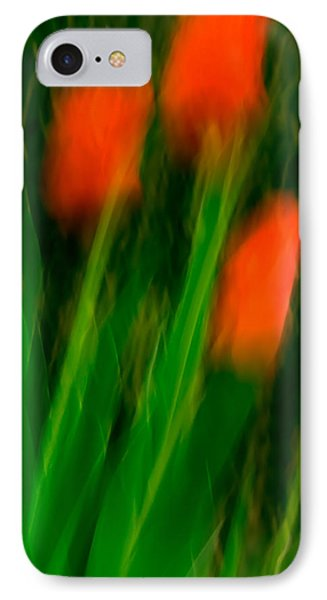 Red Tulips IPhone Case by  Onyonet  Photo Studios