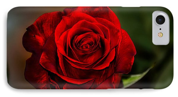 IPhone Case featuring the photograph Red Velvet by Brenda Bostic