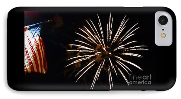 Red White And Blue IPhone Case by Gina Sullivan