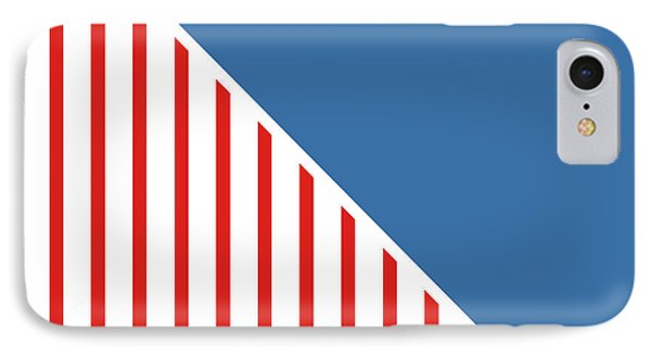 Red White And Blue Triangles IPhone Case