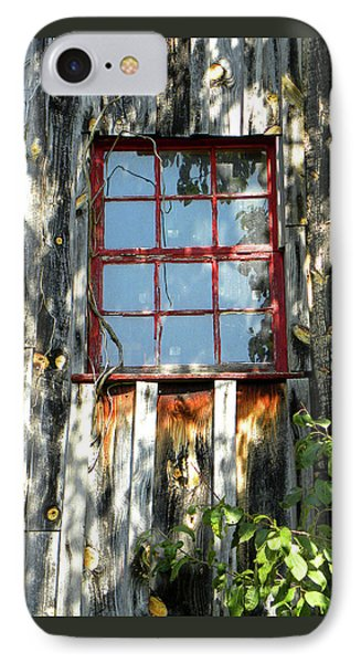 IPhone Case featuring the photograph The Red Window by Sandi OReilly