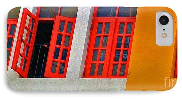 Red Windows Phone Case by Debbi Granruth