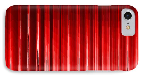 Red.140 IPhone Case by Gareth Lewis
