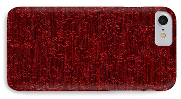 Red.400 IPhone Case by Gareth Lewis
