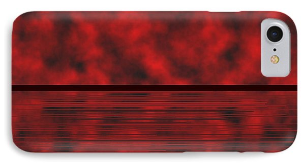 Red.83 IPhone Case by Gareth Lewis