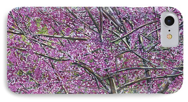 Redbud Tree IPhone Case by Nadi Spencer