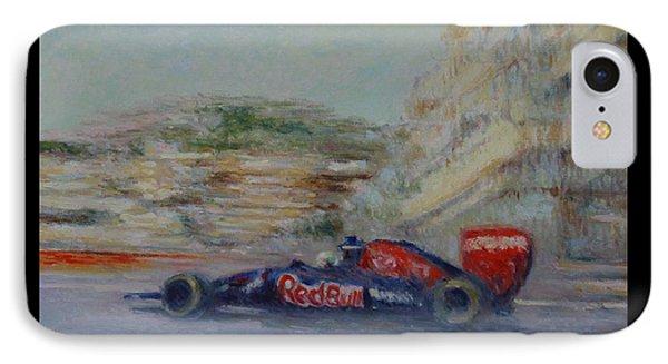 Redbull Racing Car Monaco  IPhone Case by Pierre Van Dijk