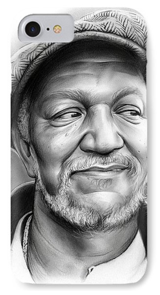 Redd Foxx IPhone Case