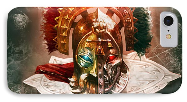 Redeemer's Helm IPhone Case by Ryan Barger