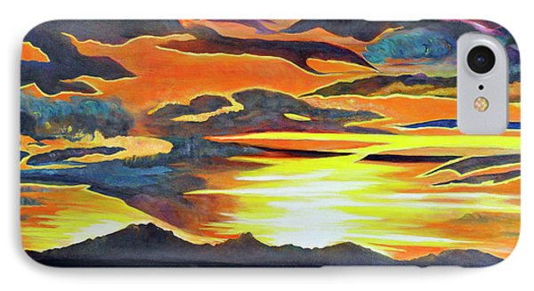 IPhone Case featuring the painting Redemption by Dottie Branchreeves