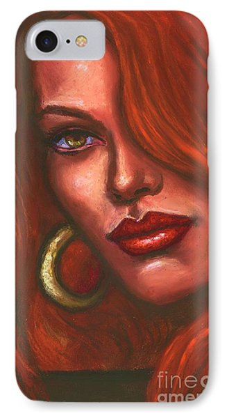 Redhead IPhone Case by Alga Washington