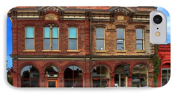 Redmens Hall - Jacksonville Oregon Phone Case by James Eddy