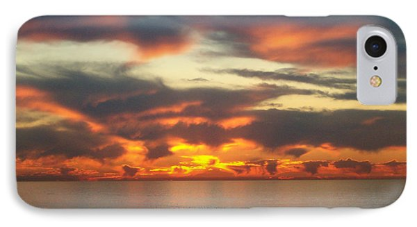 Redondo Beach Sunset IPhone Case by Mark Barclay