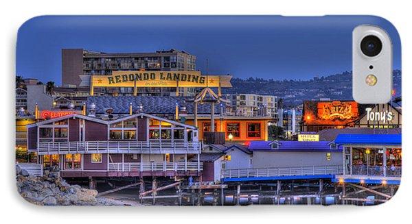 Redondo Landing IPhone Case by Richard J Cassato
