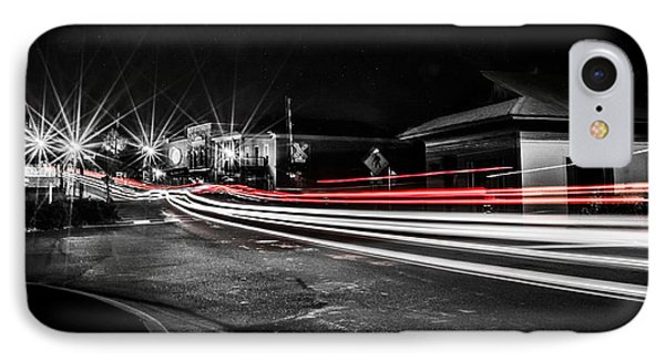 Reds In Downtown Helena IPhone Case by Parker Cunningham