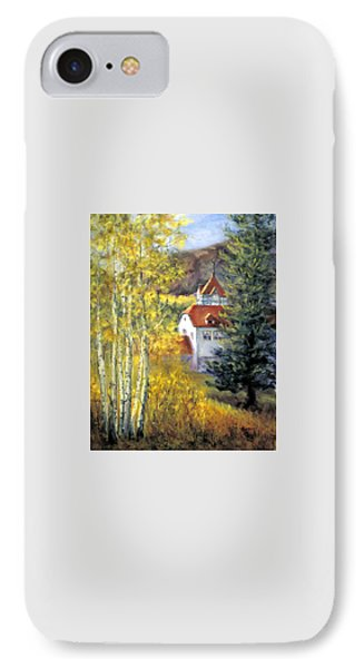 Redstone Inn IPhone Case