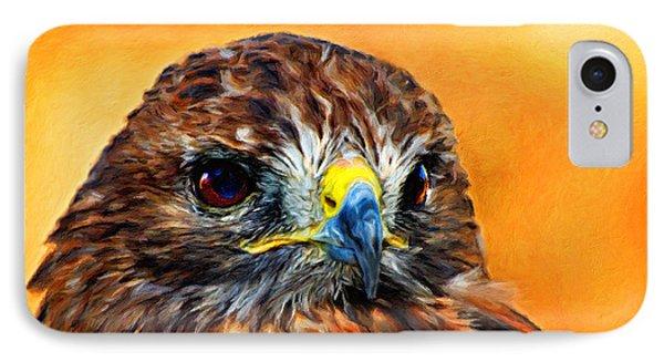 Redtailed Hawk IPhone Case