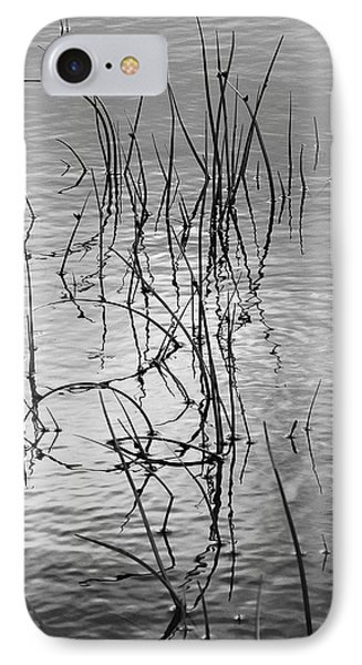 IPhone Case featuring the photograph Reeds by Art Shimamura