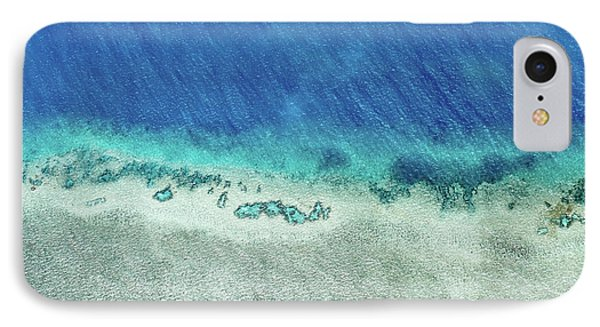 Helicopter iPhone 7 Case - Reef Barrier by Az Jackson