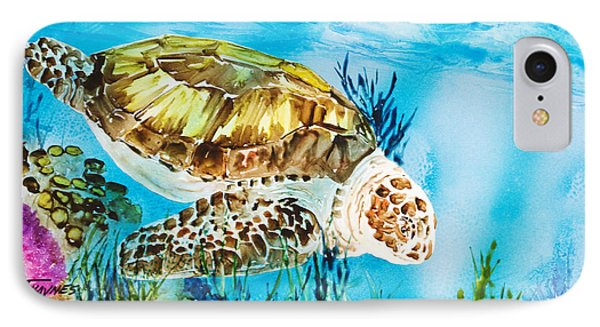 Reef Surfin IPhone Case by Tanya L Haynes - Printscapes