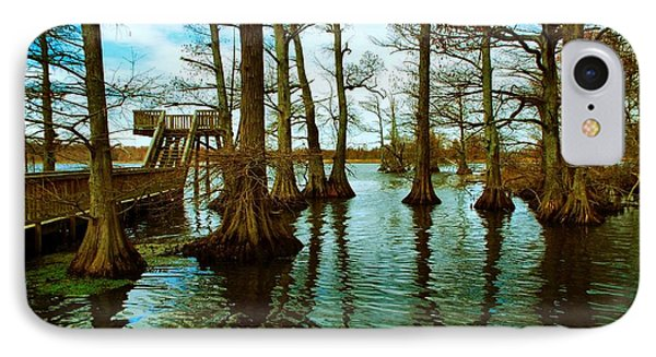 Reelfoot Beauty IPhone Case by Julie Dant