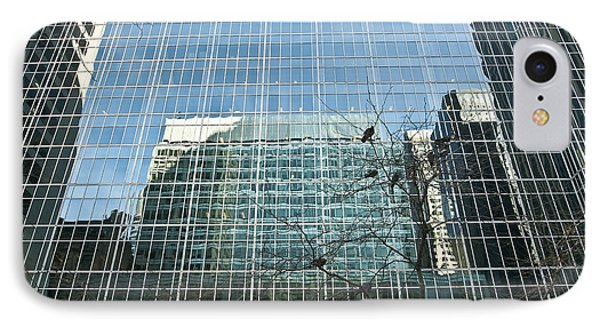 Reflected Buildings Phone Case by Svetlana Sewell