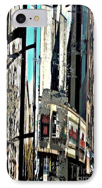 Reflected City 2 Phone Case by Sarah Loft