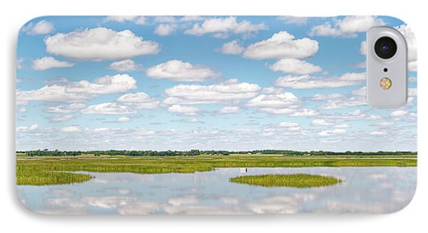 Reflected Clouds - 02 IPhone Case by Rob Graham